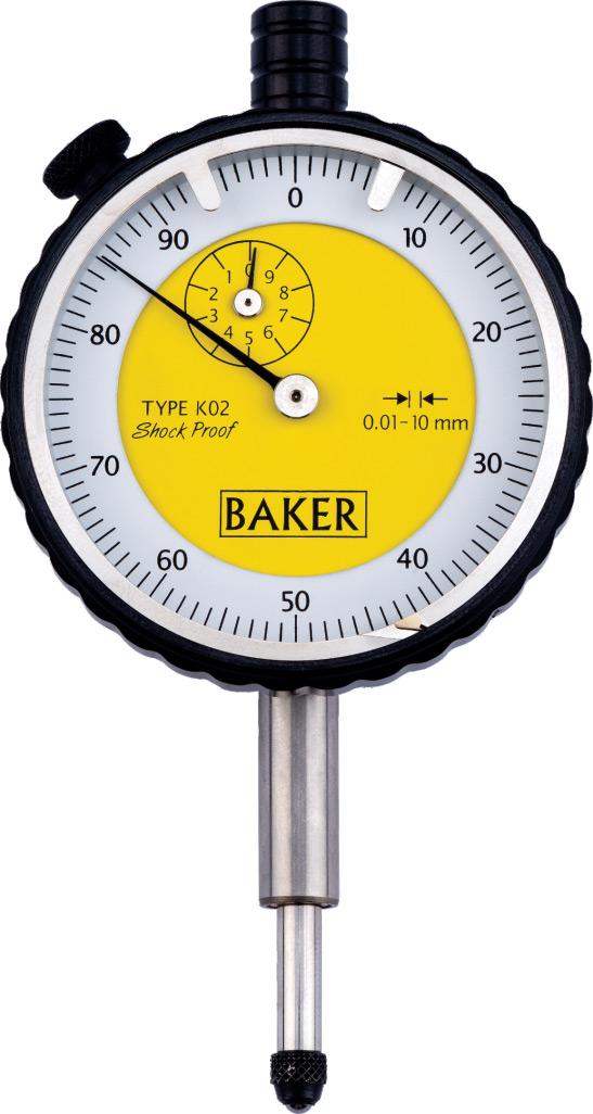 Mechanical Plunger Dial Gauge K02 - Baker Gauges India Pvt ...